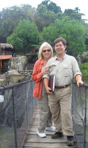 Tourism Tim Warren & Sabrina Braham MA PCC working in Dominican Republic